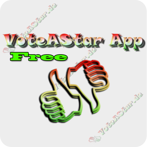 VoteAStar Free Bilder - Foto Voting Logo